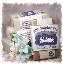 Sage & Citrus_Prairie Sage SPA Sulphur Mineral Soap Made in Montana _Homemade
