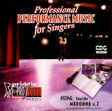Sing-A-Long: Madonna, Vol. 2, Madonna, Good Karaoke