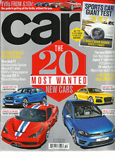 CAR,   OCTOBER, 2013   (THE 20 MOST WANTED NEW CARS* SPORTS CAR GIANT TEST 2013