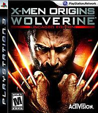 X-Men Origins: Wolverine - Uncaged Edition (Sony PlayStation 3, 2009)