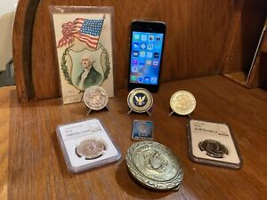 Iphone 5S and Silver Junk Drawer