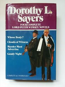 DOROTHY SAYERS ~ 4 COMPLETE LORD PETER WIMSEY NOVELS