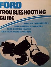 Ford Air Compressor Generator Diesel Heater Pressure Wash Troubleshooting Manual