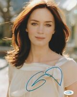 *SEXY* EMILY BLUNT SIGNED 8x10 PHOTO #2 SICARIO JUNGLE CRUISE ACOA COA PROOF!