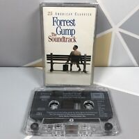 Forrest Gump - The Soundtrack  Cassette Tape * Clear Tape * Very Good Condition