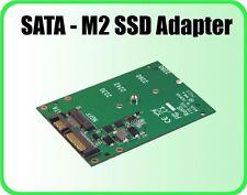 "Addonics ADM2SAHDD SATA M2 SSD Adapter - 22-Pin SATA Combo as 2.5"" SATA Drive"
