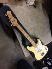 Vintage 1980s Hondo All Star H-800  Electric P bass Great shape w/ Case