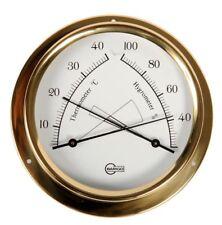 Schiffscomfortmeter Analog BARIGO Regatta Brass