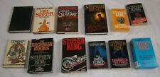 11 Lot Stephen King Novels Firestarter Christine Bachman Books Pet Sematary BCE