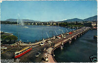 Suizo - POSTAL- GINEBRA - El puente de la Monte Blanco