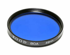Kood 80A Filter Made in Japan 49mm