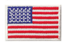 Petit écusson Etats Unis USA Amérique patch thermocollant 45x30mm
