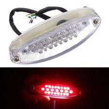 Universal Motorcycle Tail Light Brake Stop Lamp Indicator 23 LED 12V Red Lights
