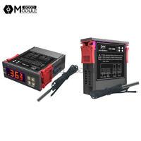 STC-1000 Digital DC12-72V Temperature Controller Thermostat Thermistor Probe