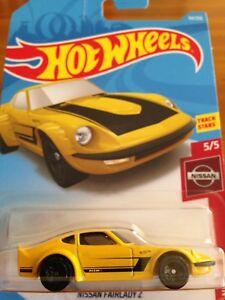 NEW 2019 Hot Wheels Nissan Fairlady Z Datsun Racing  Nissan Series RARE
