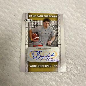 Dane Sanzenbacher Autograph Rookie 135/250 Buckeyes 2011 Sage HIT Card VERY GOOD