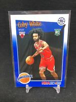 2019-20 NBA Hoops Tribute Blue - Coby White -Chicago Bulls-Rookie Card 295 G13