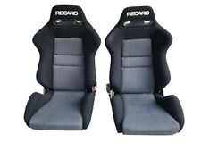 RECARO SR2 Lancer Evolution  Seat fabric seat - cloth only cover- new 2 pc