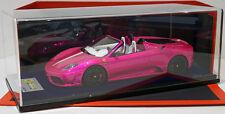 Looksmart 1/18 Ferrari F430 430 16M Scuderia Spyder Flash Pink MR not BBR