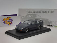 "Autocult 06035 # Porsche Experimental Prtotyp Bj. 1985 "" schwarzblau "" 1:43 NEU"