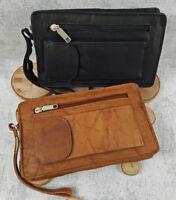 Herren Tasche Handgelenktasche Businesstasche Handtasche für Männer Clutch Leder