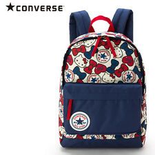 Hello Kitty × CONVERSE Kids Backpack L 13.5L Ruck Sack Sanrio Japan