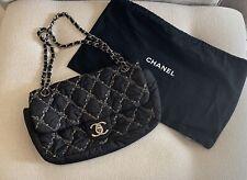 Chanel Nylon Tweed On Stitch Flap Bag