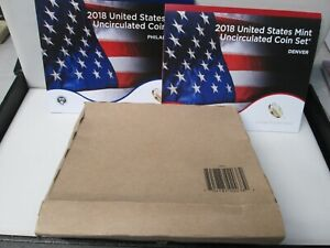 2018 US Mint Uncirculated Set with Cardboard Box