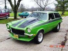 1971-1977 Chevrolet Vega 4'' Cowl Induction Hood Fiberglass Bolt on (H-1533)