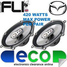 """Mazda 6 2002 - 2014 FLI 6""""x8"""" 420 Watts 3 Way Replacement Door Speakers Pair"""