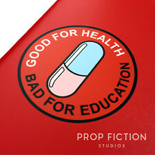 Akira - 'Good for Health / Bad for Education' Case Sticker / Equipment Decal