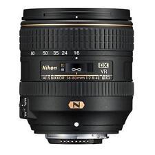 NEW Nikon AF-S DX NIKKOR 16-80mm f/2.8-4E ED VR Objektiv Lens IN WHITEBOX EU D