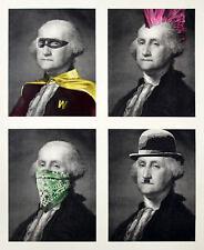 Mr Brainwash President's Day Full Large Silk Screen Art Print Signed & Numbered