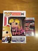 Funko Pop Sailor Moon Signed Ballantyne JSA Witnessed Authentication Certificate