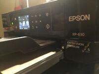 Epson XP 630 printer/CD-DVD printer / Customized ID printer & Tray (inkjet ID)