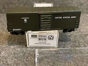 N Scale Micro-Trains U.S. Army 40' Boxcar 85320071 Transportation Corps 1996