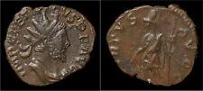 Tetricus I billon antoninianus Virtus standing left