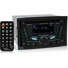 Power Acoustik PCD-52B Double-DIN Bluetooth In Dash CD Car Audio Stereo Receiver
