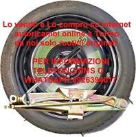 Ruotino di Scorta  FIAT 500L / TIPO ORIGINALE 135/70 R16 +CRIC+CHIAVE