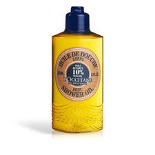 From L'Occitane en Provence BN 250ml Bottle Shea Shower Oil In shower moisturise