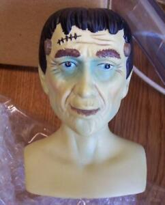 "Premier Porcelain Doll Head & Hands 💕 FRANKENSTEIN 💕 3 1/4"" Halloween"