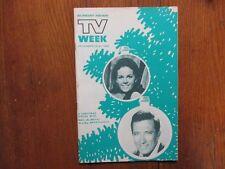 Dec 15, 1968 Lancaster Pa TV Week Mag(CLAUDINE LONGET/ANDY WILLIAMS/NANCY WILSON
