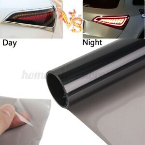 Car Headlights Taillight Protector Film Fog Lights Sticker Vinyl Tint Wrap Decal