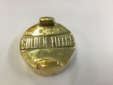GOLDEN FLEECE OIL NEW CAN DRUM BRASS LID TOP TOPPER VINTAGE SCREW PETROL
