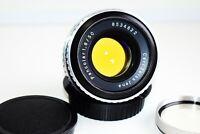 RARE Carl Zeiss Jena Pancolar THORIUM Germany lens 50mm f/1.8 CANON EOS mount