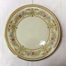 "LENOX ""CASTLE GARDEN"" DINNER PLATE 10 5/8"" IVORY BONE CHINA MADE IN U.S.A."