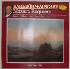 "MOZART REQUIEM KARL BÖHM EDITH MATHIS HAMARI OCHMAN RIDDERBUSCH 12"" LP (f350)"