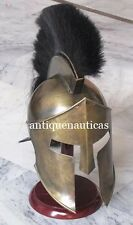 Medieval Roman Spartan 300 King Helmet  Leonidas Armor LARP Helmet
