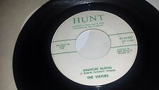 THE VIRTUES Shufflin' Along / Flippin' In HUNT 327 SURF 45 7""