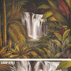 "39W""x32H"" SACRED POOL I by RODOLFO JIMENEZ - JUNGLE WATERFALLS CHOICES of CANVAS"